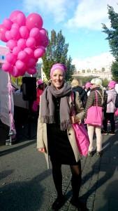 En bild från dagens lunchpromenad anordnad av Cancerfonden. Visste du att endast 30 minuters promenad om dagen förebygger cancer?